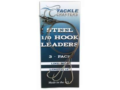 Tackle Crafters Steel Hook Leader