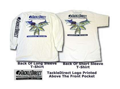 TackleDirect Multi Fish Logo Tees