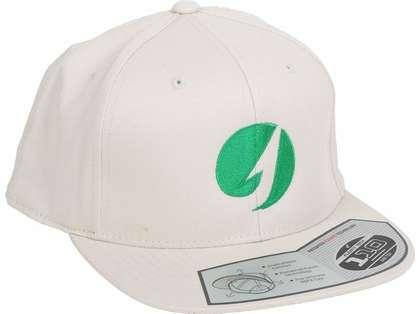 TackleDirect Flexfit Twill Snapback Hat - Cork/Kelly Green Logo