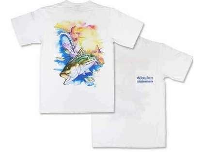 TackleDirect Bogy Striper Short Sleeve T-Shirt White
