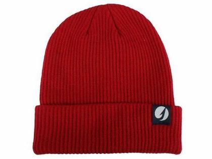 TackleDirect Custom Knit Beanie Scarlet