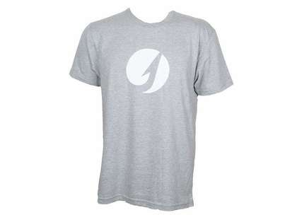 TackleDirect Hook Logo Men's T-Shirt - Heather Gray - Size Medium