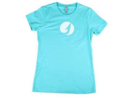 TackleDirect Hook Logo Women's T-Shirt - Tahiti Blue - Size Medium