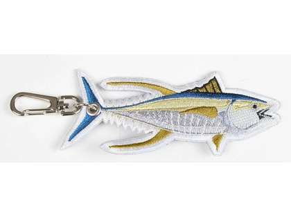 TackleDirect Logo Yellowfin Tuna Key Clip
