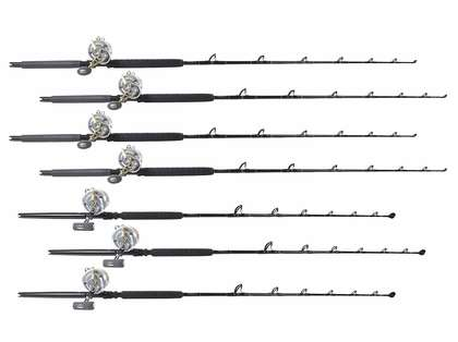 TackleDirect Platinum Hook / Talica Canyon Ready Package w/ 7 Combos