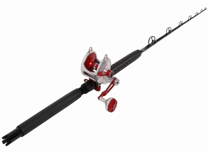 Accurate Valiant BV2-800 /TackleDirect Platinum Hook Standup Combo