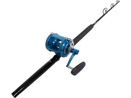 TackleDirect Platinum Hook Avet EXW 50/2 Blue Standup Combo