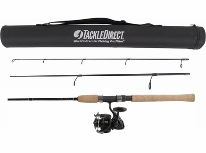 TackleDirect Silver Hook / Daiwa Saltist Back Bay LT Travel Combo