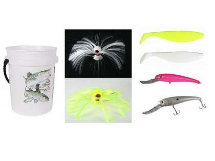 TackleDirect Striped Bass Trolling Bucket Kit