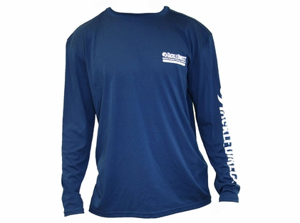 TackleDirect TD Logo Denali Performance Long Sleeve Tee - Size X-Large
