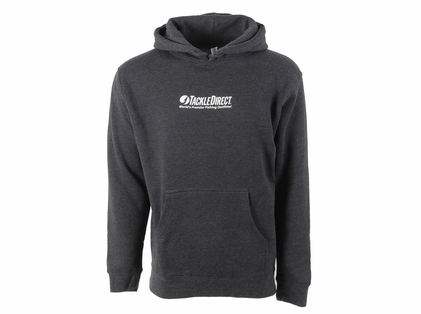 TackleDirect TDLHCH TD Logo Hoody Charcoal Heather