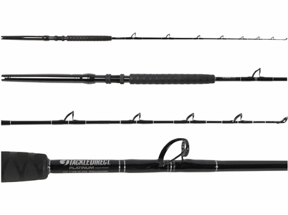 TackleDirect TDPS662040SIN-UB2 Platinum Hook White Marlin Rod
