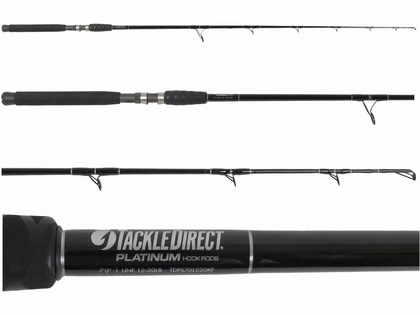 TackleDirect TDPS701220KF Platinum Hook Spinning Rod
