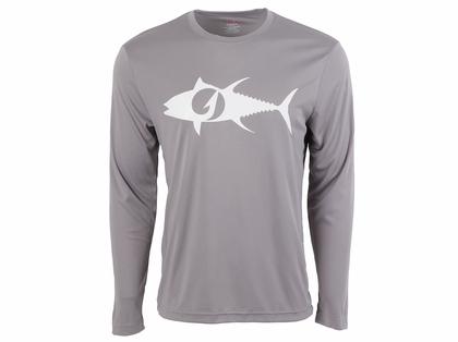 TackleDirect Tuna Logo Men's Performance LS Shirts