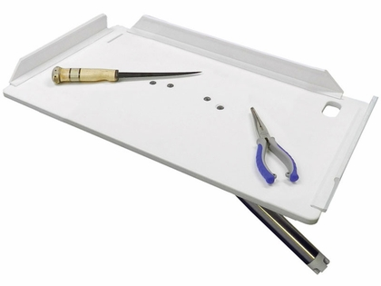 TACO 20in Poly Filet Table w/Adjustable Gunnel Mount - P01-2120W