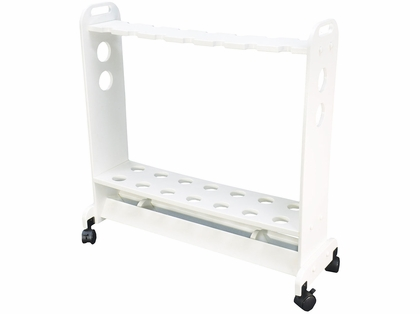 TACO 14-Rod Big Game Poly Rod Storage Cart