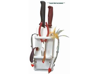 TACO Poly Plier, Knife & 15 Rig Holder - P01-1001W