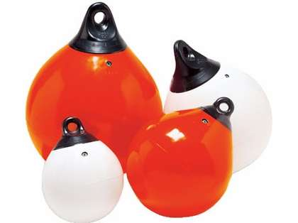 Taylor Made 61146 Tuff End 15'' Orange Inflatable Vinyl Buoy