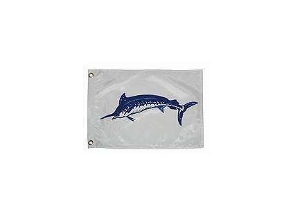 Taylor Made Blue Marlin Fish Flag