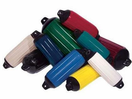 Taylor Made Super Gard 6-1/2'' x 22'' Inflatable Fender Black/Black