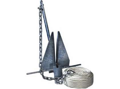 Tie Down #8 Super Hooker Anchor Kit