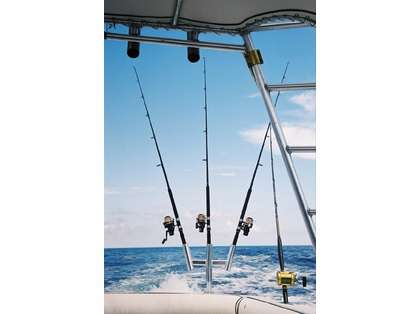Tigress 88158 Triple Aluminum Kite Rod Holder
