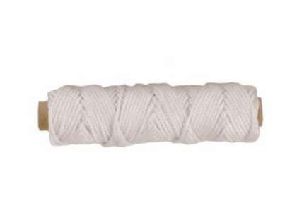 Tigress 88672 100ft White Nylon Braid