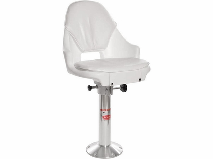 Todd 7800 Freeport Helm Seat, Cushion, Slider, Pedestal Package (#200)