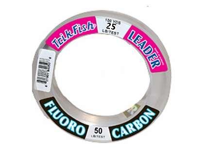 Trik 25FLS02001 Flourocarbon Clear Leader