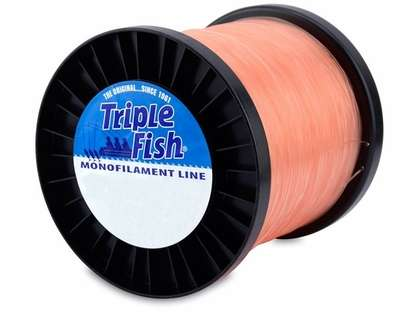 Triple Fish Monofilament Line - Pink - 2 lb. Spool