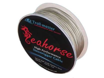 Troll-Master Seahorse Downrigger Cable Stainless - 300ft