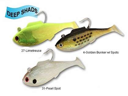Tsunami Soft Bait Swim Shad Deep Lures