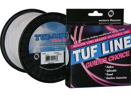 TUF-LINE Guides Choice Hollow Core 1200yds 150lb White