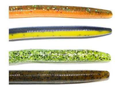 Tuff Bait Stick 6'' Worms - 6 Pack