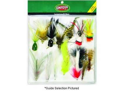 Umpqua 09276 Largemouth Bass Deluxe Selection