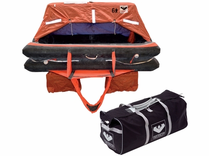 VIKING  Coastal Life Raft - 4 Person - Valise
