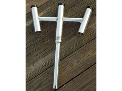 Wahoo Industries Triple Rod Holder (Item 104)