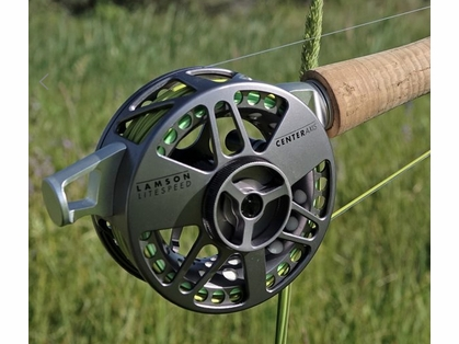 Waterworks Lamson Center Axis 3 Fly Fishing Reel
