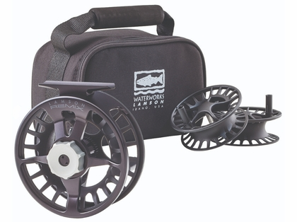 Waterworks Lamson Remix 2 Fly Fishing Reel and Spools - 3 Pack