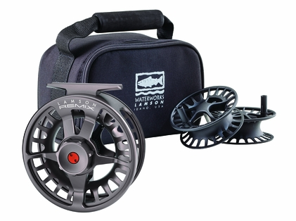 Waterworks Lamson Remix HD -9+ Fly Fishing Reel and Spools - 3 Pack