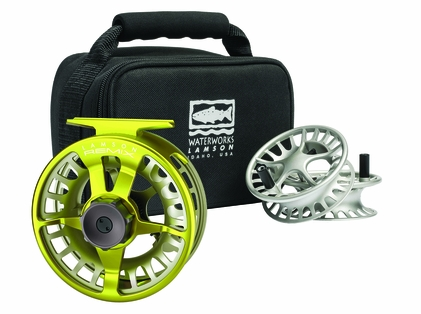 Waterworks Lamson Remix -9+ Fly Fishing Reel and Spools 3pk - Sublime