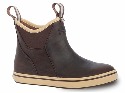 Xtratuf Women S Leather Ankle Deck Boots Tackledirect