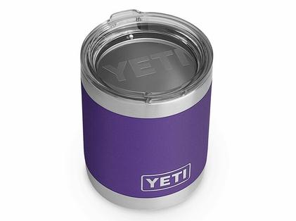YETI Rambler Lowball 10oz - Peak Purple