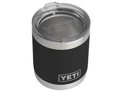 YETI Rambler Lowball 10oz Black