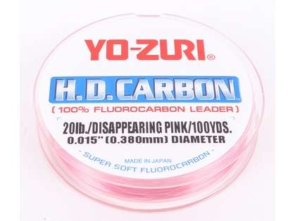 Yo-ZuriHD20LB-DP-100-SPL Fluorocarbon Leader Wrist Spool