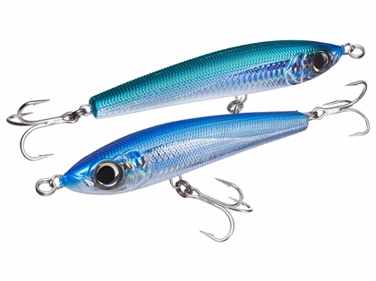 Yo-Zuri R1156 Diving Slider Sinking Lure Holographic Blue