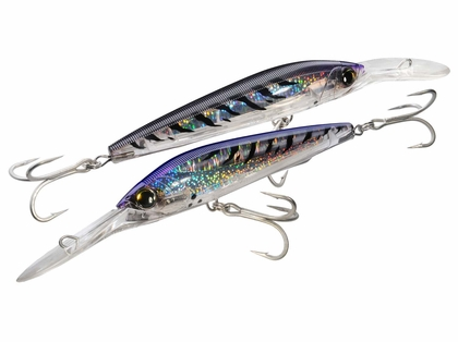 Yo-Zuri 3D Magnum Deep Diver Floating Lure Purple Mackerel
