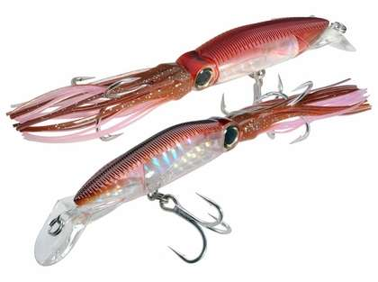 Yo-Zuri R1166 3D Squirt Floating Lure Red Brown