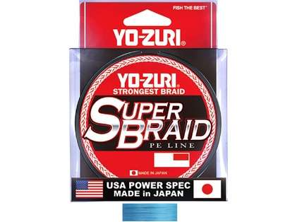 Yo-Zuri SuperBraid - 150 yds - 65 lb - Blue