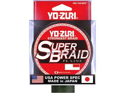 Yo-Zuri SuperBraid - 300 yds - 50 lb - Dark Green
